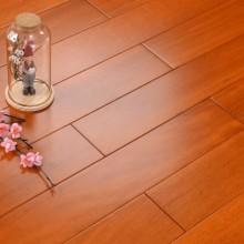 平面实木地板 番龙眼本色