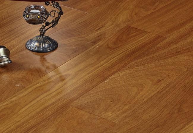 新三层实木锁扣地板 西非苏木SP85