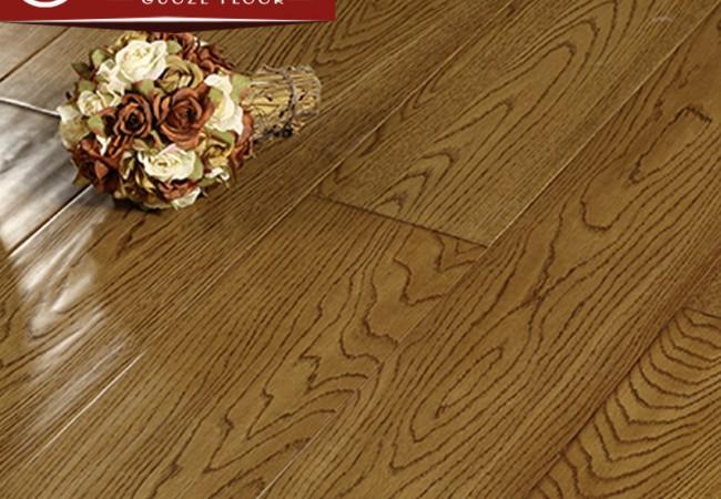 多层实木地板 橡木手抓纹2215
