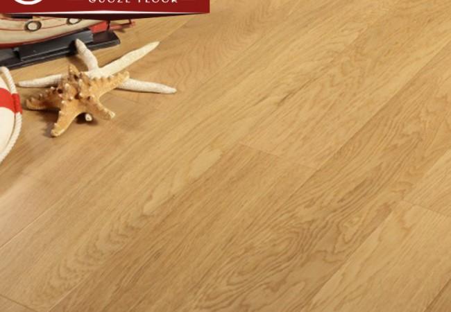 多层实木地板 柞木8002