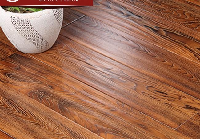 仿古橡木多层实木地板2220