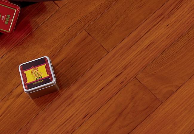 平面实木地板 缅甸柚木 DJ-17(订制)