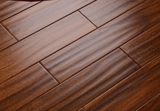 仿古 实木地板 圆盘豆0091