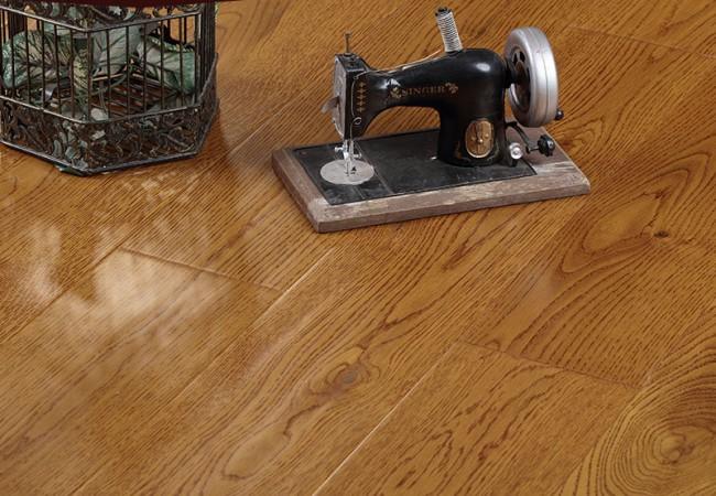 新三层实木锁扣地板,橡木SF67