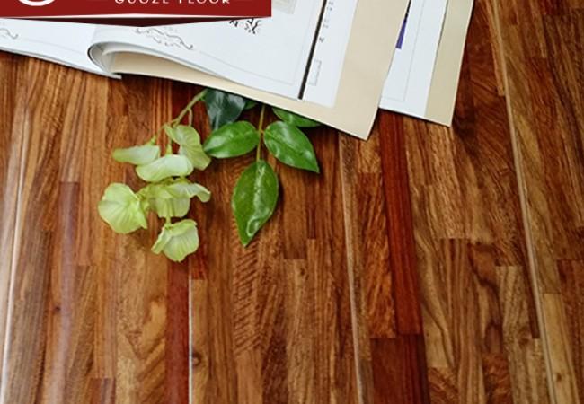 多层实木地板,九拼指接哑花梨本色9913