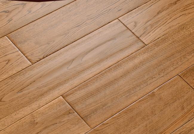 仿古实木地板 橡木古典色DJ-518