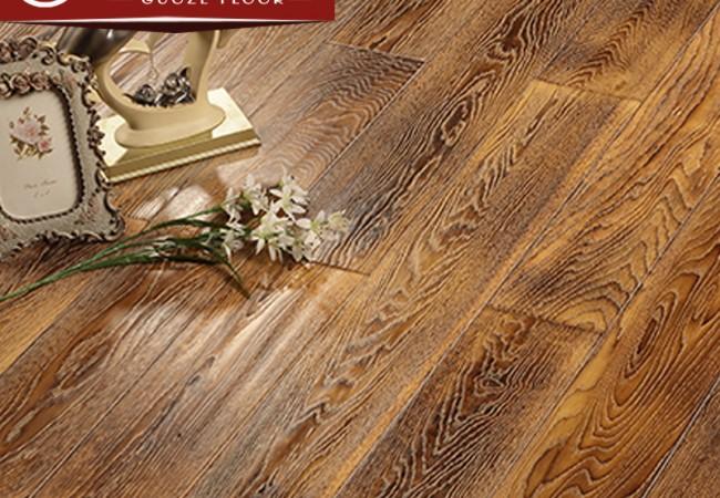 多层实木地板 橡木手抓纹2207