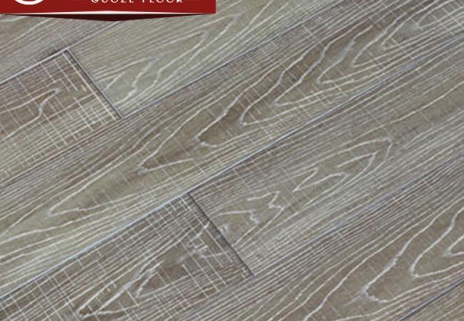 仿古冷色系实木地板 番龙眼L-8610