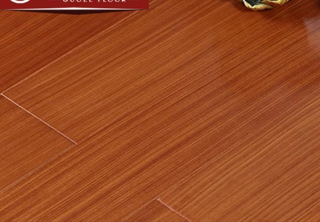 平面多层实木地板 大美木豆8004