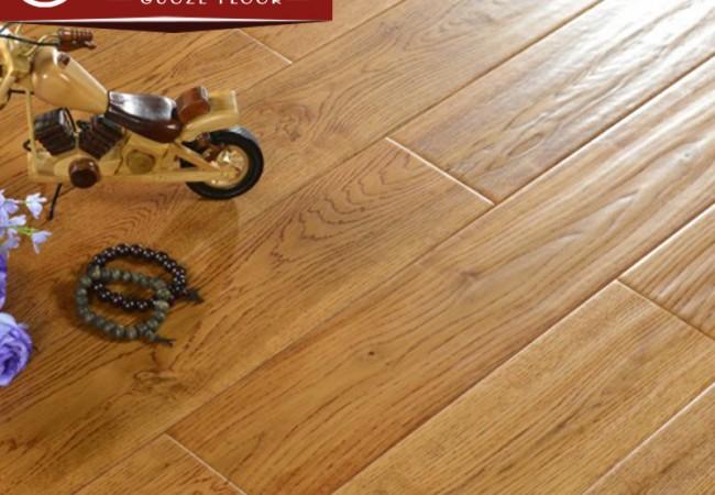 仿古实木地板 橡木(浅黄色)