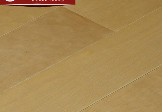 平面多层实木地板 白枫哑光8008