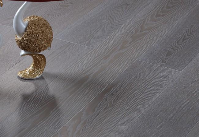 新三层实木锁扣地板 白蜡木SL17