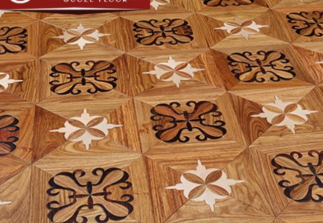 多层拼花实木地板—帝宫