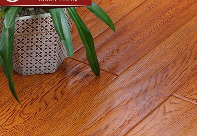 多层实木地板 锁扣橡木手抓纹2231