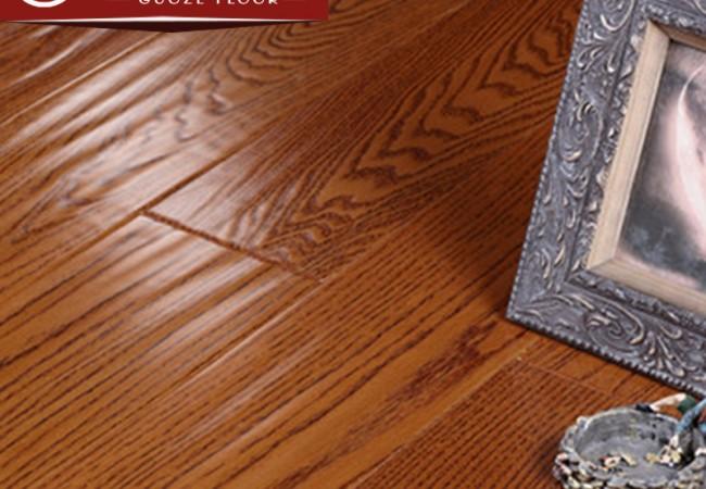 多层实木地板美国红橡大锁扣2235