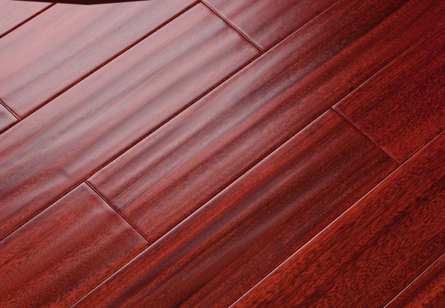 仿古 实木地板 圆盘豆0092