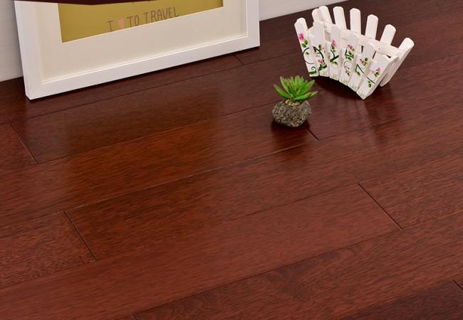 平面实木地板菠萝格 DJ-022