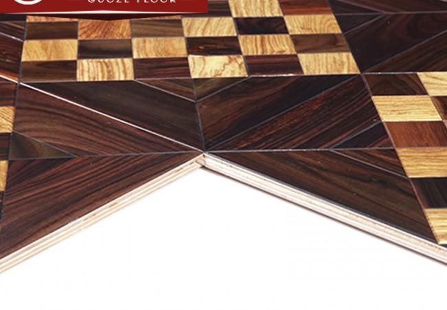 多层拼花实木地板—魔方