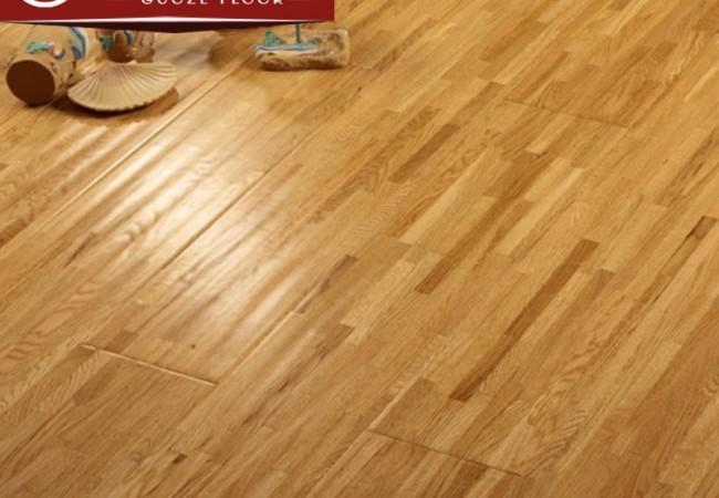 多层实木地板 九拼指接橡木9911