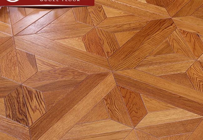 多层拼花实木地板橡木—木香居