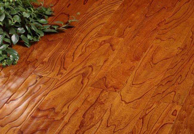 多层实木地板 榆木8806