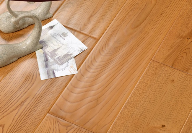 仿古实木地板 白蜡木DJ-601-1